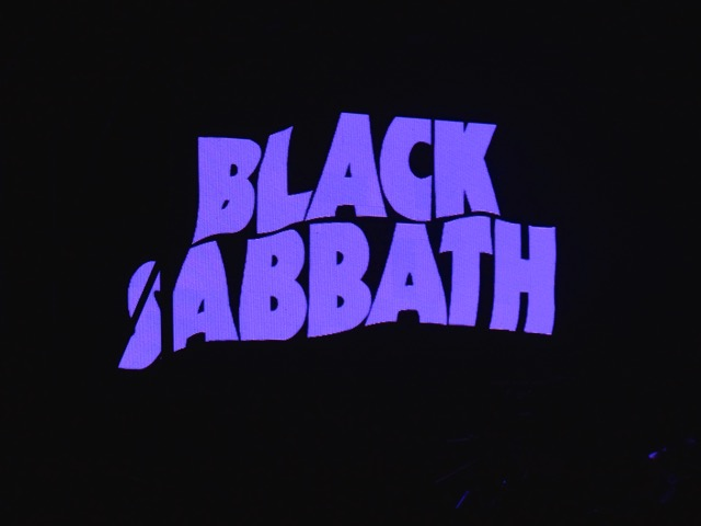 Black Sabbath Screen Berlin