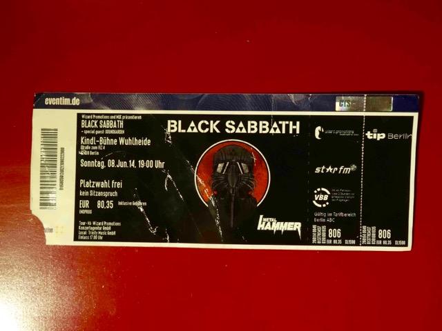 Black Sabbath Berlin 2013