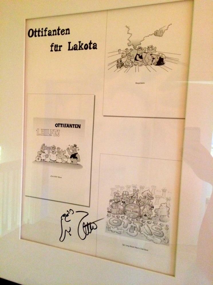 Wusstet Du, dass Otto Walkes Beatles Albencover gemalt hat?