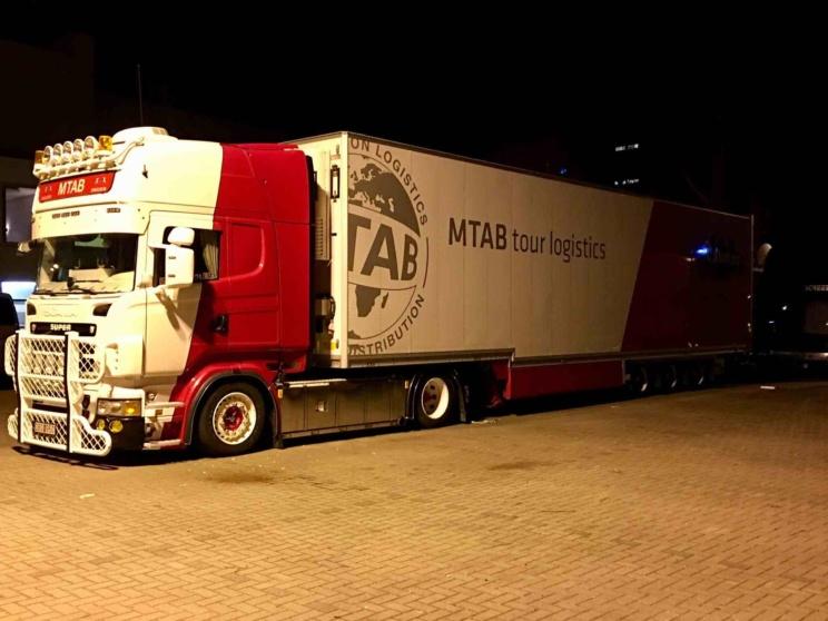 Sabaton Truck
