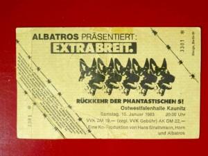 Extrabreit 1993 Ostwestfalenhalle Kaunitz
