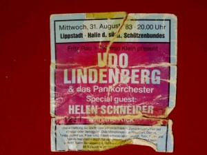 Udo Lindenberg 1983 Lippstadt