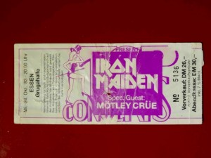 Iron Maiden 1983 Essen
