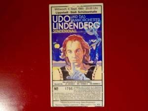 Udo Lindenberg 1985 Lippstadt