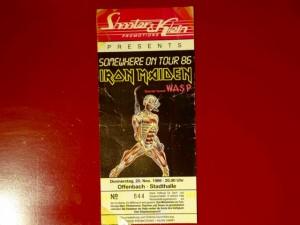 Iron Maiden 1986 Offenbach