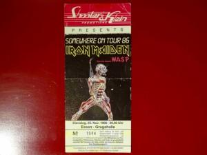 Iron Maiden 1986 Essen