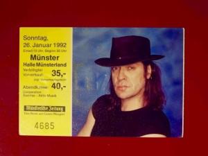 Udo Lindenberg 1992 Münster