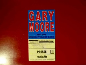 Gary Moore - 1992 Hannover