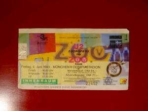 U2 - Zooropa Tour 1993
