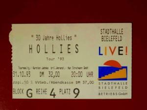 Hollies 1993 Bielefeld