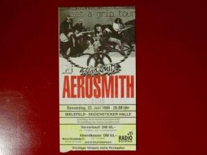 Aerosmith 1994 Bielefeld