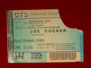 Joe Cocker 1994 Bielefeld