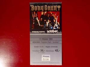 Bodycount  1994 München