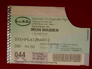 Iron Maiden 1995 München