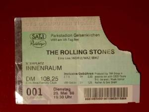 Rolling Stones 1998 Gelsenkirchen
