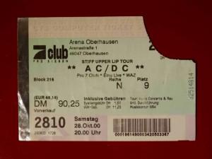 AC/DC 2000 Oberhausen