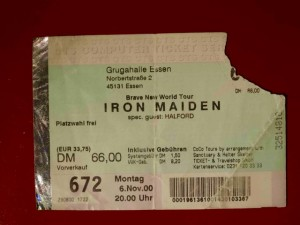 Iron Maiden 2000 Essen