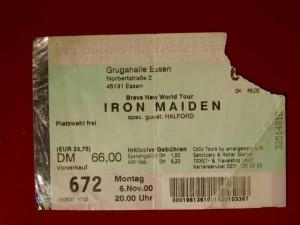 Iron Maiden 2000 Essen