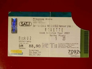 Roxette 2001 Hannover