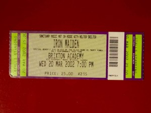 Iron Maiden Brixton 2002 / Wed