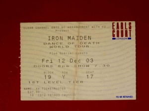 Iron Maiden London 2003