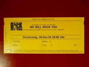 We will Rock you - Köln