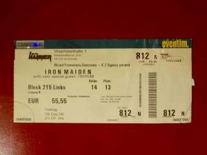 Iron Maiden Dortmund 2006