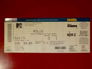 Metallica 2009 Hamburg