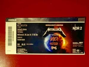 Metallica Sonisphere Hamburg