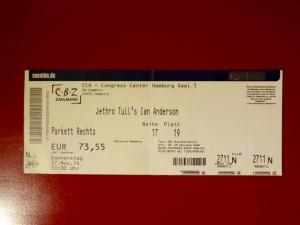 Jethro Tull 2014, Hamburg CCH
