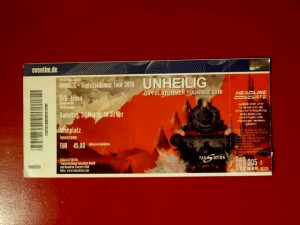 Unheilig Bremen 2015