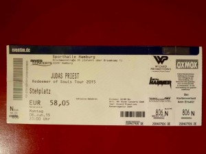 Judas Priest 2015 Hamburg - Sporthalle