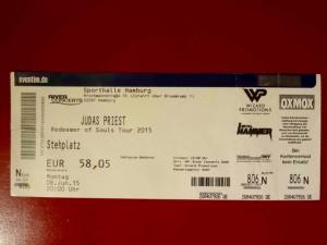Judas Priest 2015 Hamburg - Sporthalle