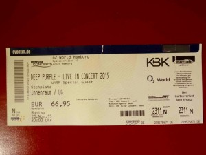 Deep Purple 2015 Hamburg