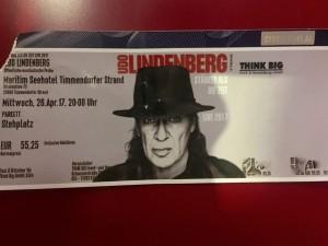 Udo Lindenberg - Generalprobe Tour 2017