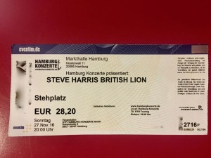 Steve Harris - British Lion - Markthalle Hamburg