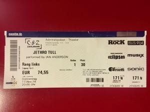 Jethro Tull - Ian Anderson im Admiralspalast Berlin